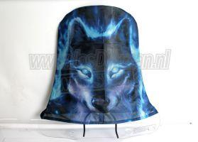 Windschermhoes Model Hoog Wolf