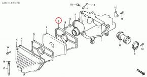 Luchtfilterset Honda MT / MB