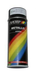 Motip Spuitbus Zwart Metallic 400ML