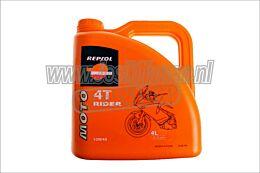 Repsol Motor Olie 10W40 Rider 4liter