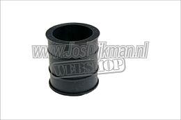 Uitlaat rubber - bevestiging demper - 30mm Rood