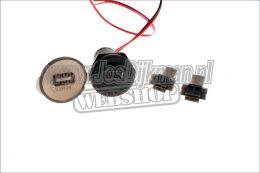 Aansluiting 12v  USB  OpladeR Voor  Mobiele Telefoon
