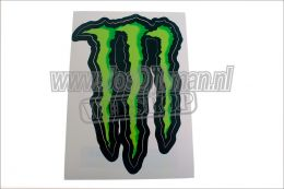 monster energy sticker 16x11.5cm