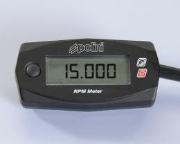 Toerenteller Polini + Verlichting 12V / Batterijspanning