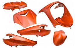 Plaatwerkset Peugeot Viva-City OT 6-Delig Oranje Metallic