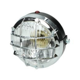 Koplamp Rond Chroom + Rooster Puch / Tomos