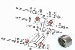 DRD PRO - Pro Link systeem Naaldlager Midden