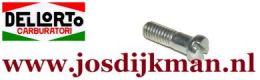 Bout Gasschuif-deksel Dellorto SHA 13/13