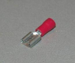 Kabelverb. Rood Vlakhuls 6.5MM