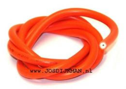 Bougiekabel 7MM Oranje - 1 Meter