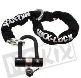 Kettingslot MKX ART4 120CM (Lang U Lock)