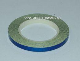 Wielstriping 5MM - 6mtr Blauw