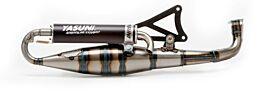 Uitlaat Yasuni Carrera City 16 Black Edition Minarelli Horizontaal