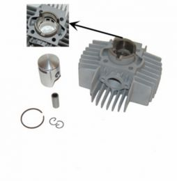 Cilinderset 50CC DMP 6-Poorts Puch Maxi