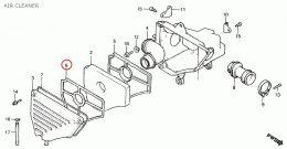 Luchtfilter Rekje Voorzijde Honda MT / MB