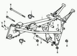 Afstandsbus Luchtfilter Honda MT/MB
