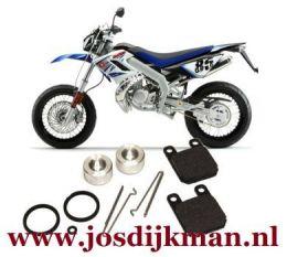 Remklauw revisieset achterwiel Derbi DRD Racing 2005-2007
