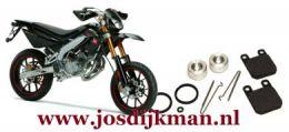 Remklauw revisieset voorwiel L/R Derbi DRD Limited Edition 2005-2008