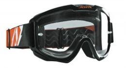 Crossbril Jopa Venom 2 Zwart / Oranje