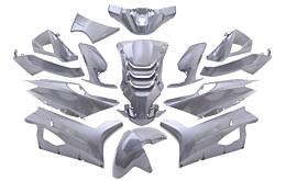 Kappenset Peugeot Speedfight 4 Antraciet
