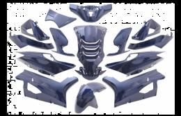 Kappenset Peugeot Speedfight 4 Metallic Blauw