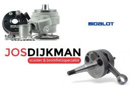 Cilinder / Krukas Kit Bidalot RF96-WR Derbi D50B0