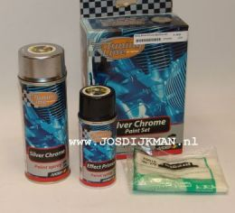 Tuning Silver Chrome Paint set