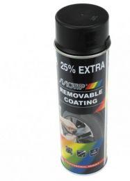Motip Sprayplast Plastydip Mat Zwart 500ML