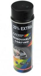 Motip Sprayplast Plastydip Glans Zwart 500ML