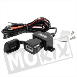 USB  Snel Lader Opbouw 12 / 24V