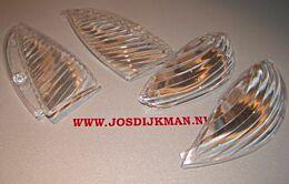 RAW Glasset Wit Peugeot Vivacity