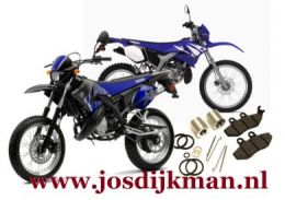 Remklauw revisieset voorwiel Yamaha DT50x / DT50r